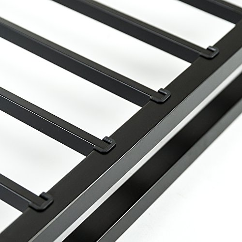 zinus 4 inch low profile quick lock smart box spring mattress foundation strong steel. Black Bedroom Furniture Sets. Home Design Ideas