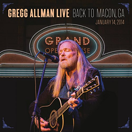 Gregg Allman Live: Back To Macon, GA [2 CD/DVD Combo] (New Ultimate Age Experience)