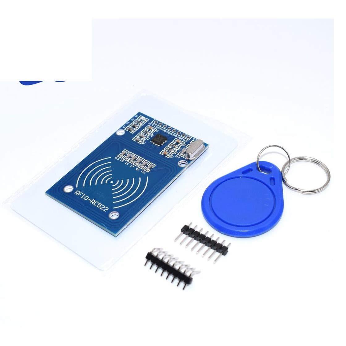 GalaxyElec MFRC-522 RC522 RFID RF IC Card Sensor Module to Send Fudan Card Rf Module Keychain 5pcs