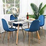 GreenForest Dining Table Rectangular Top Modern
