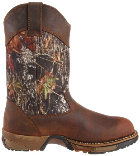 Rocky Mossy Breakup Brown Boots Oak Aztec Waterproof Camo Pull On PrPqa0