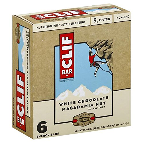 Clif Bar Energy White Chocolate Macadamia Nut, 14.4 Ounce
