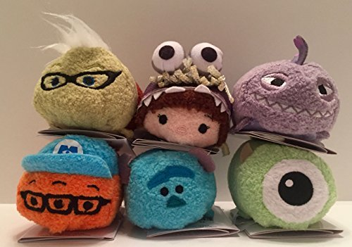 Monsters Inc Boo Costume Disney (Disney - Monsters Inc. Mini ''Tsum Tsum'' Plush Collection set of 6)