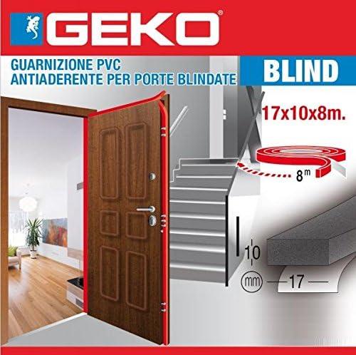 Geko - Burlete para Puertas de Seguridad, Talla única: Amazon.es: Hogar