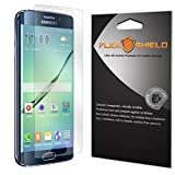 Galaxy S6 Edge+ Screen Protector [5-Pack][Galaxy S6 Edge Plus], Flex Shield - Ultra Clear Japanese PET Film with Lifetime Warranty - Bubble-Free HD Clarity with Anti-Fingerprint & Scratch Resistance
