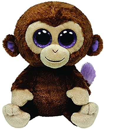 Amazon.com  Ty Beanie Boos - Coconut - Monkey  Toys   Games 744c7b3763