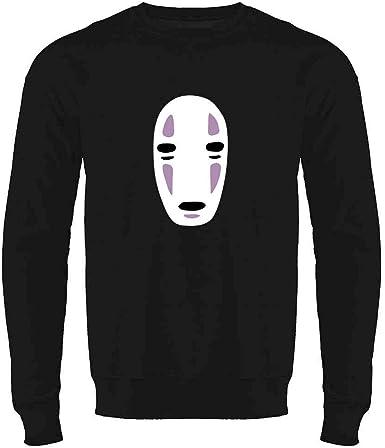 No Face Kaonashi Nerd Apparel Geek Mens Fleece Hoodie Sweatshirt