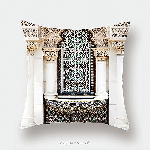 Custom Satin Pillowcase Protector The Unique Of Islamic Moroccan Architecture Traditional Design 144418834 Pillow Case Covers Decorative by chaoran