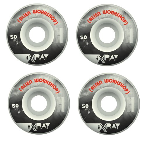 ALIEN WORKSHOP Skateboard Wheels XRAY LOGO 50mm - Workshop Alien Wheels