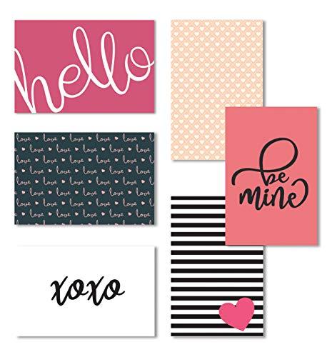 Love Note Cards, Blank Valentine