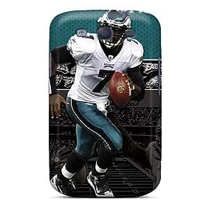 Premium Scnphnv-6565 Case With Scratch-resistant/ Philadelphia Eagles Case Cover For Galaxy S3