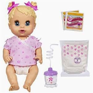 Amazon Com Baby Alive Hasbro Sip N Slurp Caucasian Doll