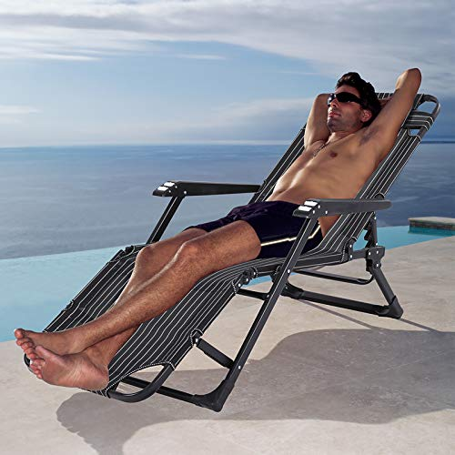 Sun Lounger Chairs Folding Bed
