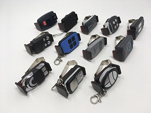 visiera e facile da trovare regolabile per adattarsi a diversi telecomandi di dimensioni 47-70mm Supporto per clip per auto parasole Supporto per telecomando