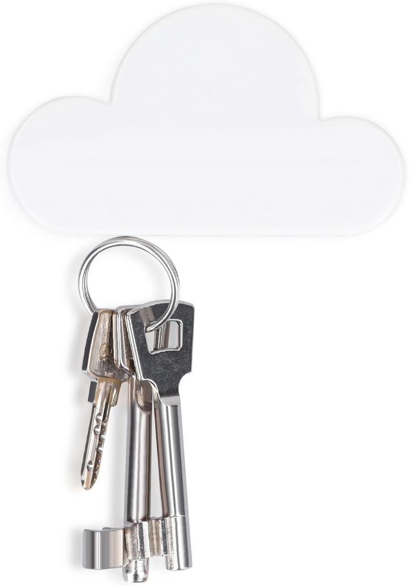Toyvian Soporte de Llave magn/ético para la Forma de la Nube Colgador de Llavero montado en la Pared para la Oficina en casa Rosa