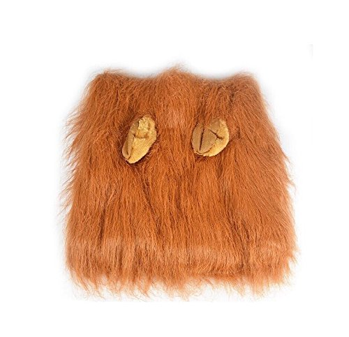 Lion Halloween Dog Mane Costume for Pet Dress (A List Of The Best Halloween Costumes)
