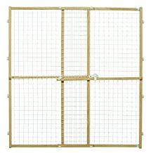 "Midwest Homes for Pets Wire Mesh Pet Safety Gate, 44"" Tall and Expands 29-50"" Wide, Large"