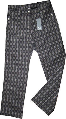 IX-CHEL - Pantalón - para mujer Grey Checked