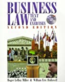 Business Law : Text and Exercises, Miller, Toby, 0538885459