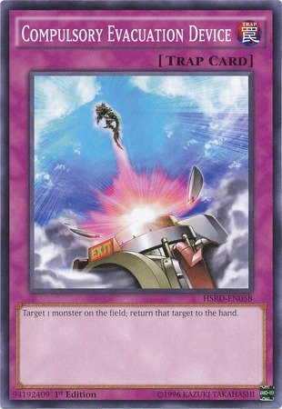 Yu-Gi-Oh! - Compulsory Evacuation Device (HSRD-EN058) - High-Speed Riders -  1st Edition - Common