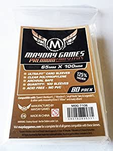 Mayday Games - 80 Premium 7 Wonders Sleeves 65x100mm