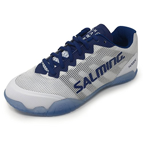 Hawk White Shoe Shoes Court navy Size 8 Uk Color Indoor Ladies Salming fdw1WqSg1