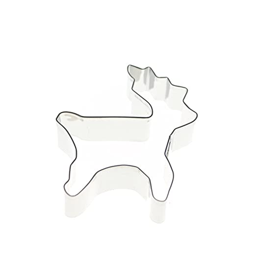 Bubudong Christmas Elk Cookie Cutter De acero inoxidable ...