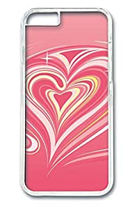 iphone 6 4.7inch Case and Cover Pink Vortex Of Love PC case Cover for iphone 6 4.7inch transparent