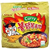 Samyang Spicy Instant Ramen (Curry Chicken (5 pack))