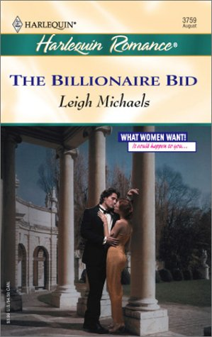 The Billionaire Bid (Harlequin Romance)