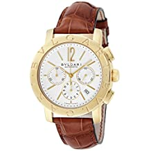BVLGARI watch Bulgari Bulgari automatic chronograph BB42WGLDCH