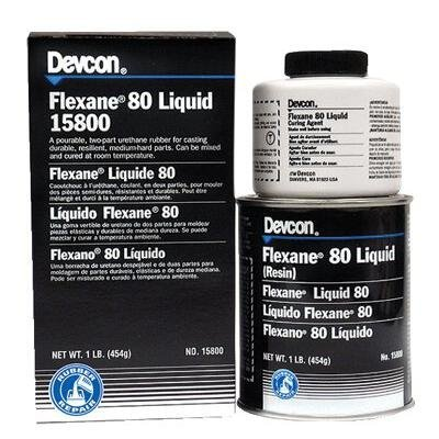 SEPTLS23015810 - Devcon Flexane 80 Liquid - 15810 Rigid Polyurethane Mold