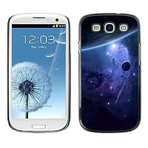 Be Good Phone Accessory // Dura Cáscara cubierta Protectora Caso Carcasa Funda de Protección para Samsung Galaxy S3 I9300 // Space Galaxy