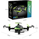 BTG JJRC H48 Mini Pocket Drone 3D Flips and Rolls 2.4Ghz 4CH 6-Axis Gyro RC Nano Quadcopter Palm Size Ideal for Beginners (Green)