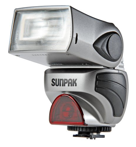 Sunpak PZ40X Power Zoom Digital Flash for all Nikon TTL and D-TTL Cameras