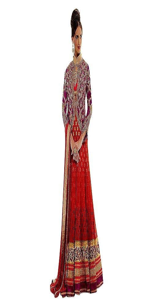 Tomate rot Braut Hochzeit muslimischen Frauen Kleid Designer Boden ...