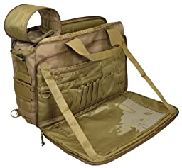 Hazard 4 MOD Laptop Messenger/Briefcase/Go-Bag with Molle, Coyote