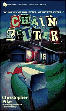 Chain Letter (Avon Flare Book): Christopher Pike: 9780380899685