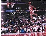Michael Jordan slam dunk 8 X 10 Reprint Photo Chicago Bulls - Beautiful !