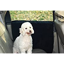 Sporer Waterproof Pet Car Door Cover, Dog Protector Install-Insert The Tabs Or Stick The Velcros, For All Vehicles Cars SUVs (black)