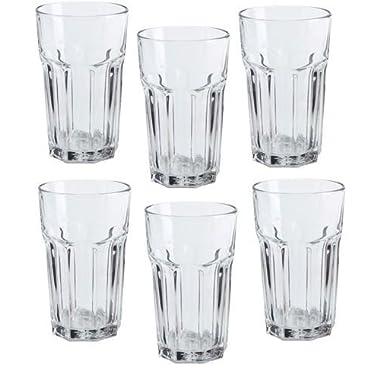 Ikea Pokal Glasses 12 Oz Tumbler - Set of 6