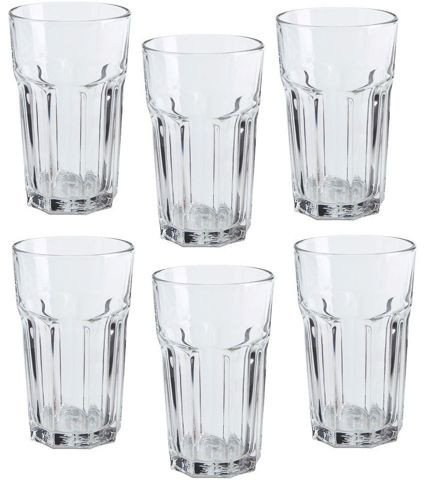 8b234cab050 Image Unavailable. Image not available for. Color: Ikea Pokal Glasses ...