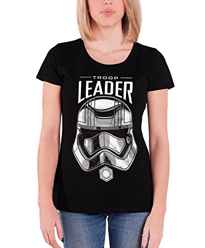 Star Wars T Shirt Captain Phasma Troop Leader new Official Womens Junior Fit