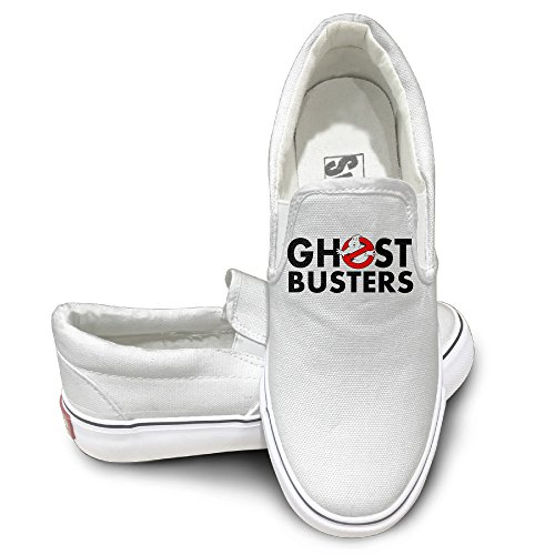 [TAYC Who Is Ghostbusters Fashion Canvas Shoes White] (Incredible Hulk Costume Ideas)