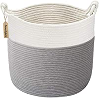 Goodpick Cotton Rope Basket with Handle