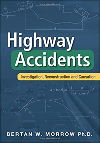 Book Highway Accidents: Investigation, Reconstruction and Causation