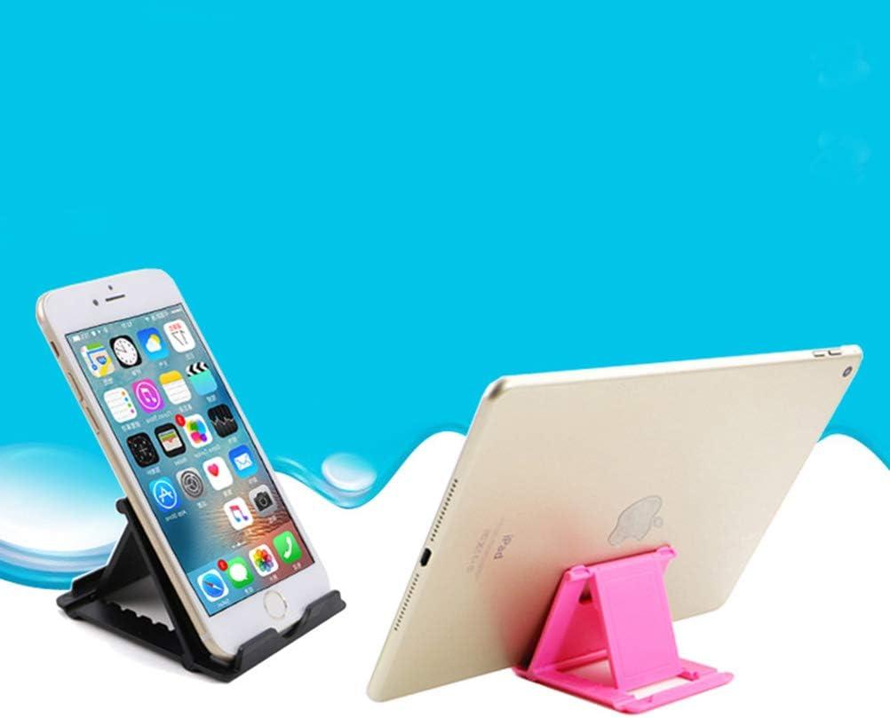 UKCOCO Soporte para tel/éfono Celular Universal Soporte Perezoso m/óvil Gancho para Cuello de Cisne Flexible Soporte Largo para Dispositivos con tel/éfono Inteligente o Tableta Negro