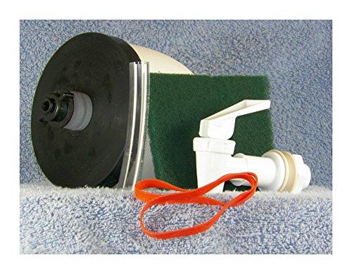 Andrews Corner Survival Water Filter Kit - Silver Impregnated Ceramic Filter Water Kit (Corner Water Tube)