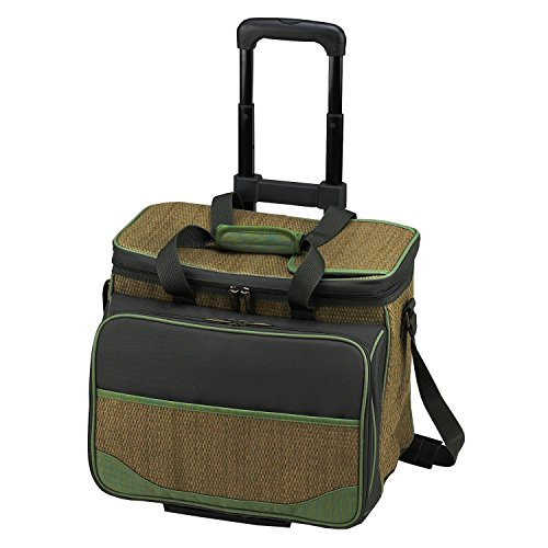 Picnic at Ascot Eco Picnic Cooler for 4 with Wheels (Tote Rolling Cooler)