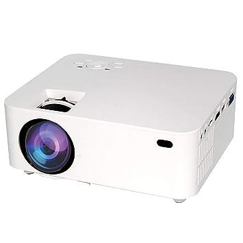 YONGCHY Proyector, Nativa De 1080P De Vídeo LED Proyector 1000 ...